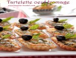 Tartelette aux fromages/oeufs,herbes